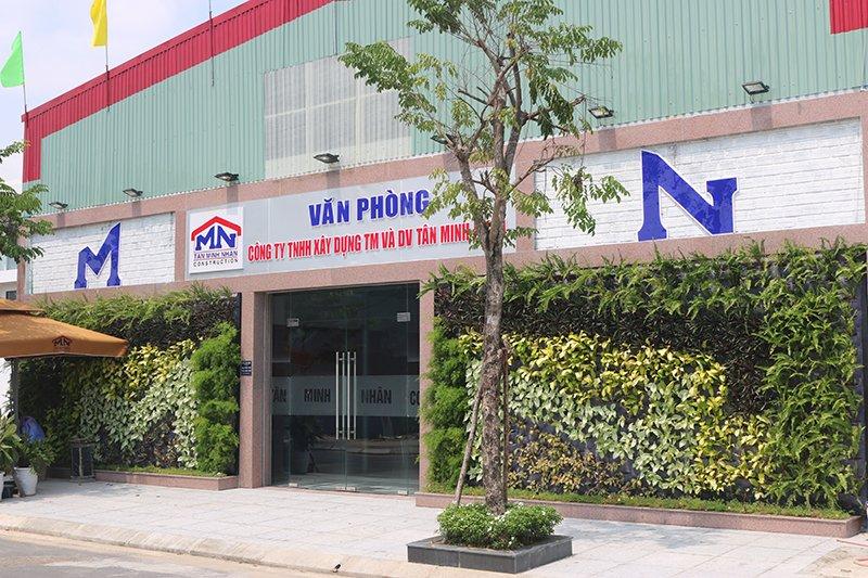Văn phòng công ty Tân Minh Nhân